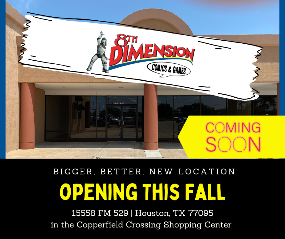 Image showing storefront at 8th DImension's new location on FM 529 at Highway 6 North.